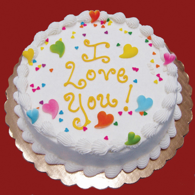 Birthday Cake Designs Love : I love you - Edda s Cake DesignsEdda s Cake Designs