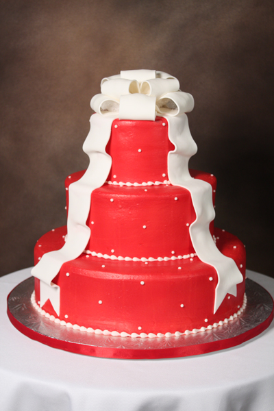 Cake Designs By Edda : Red & White Fondant - Edda s Cake DesignsEdda s Cake Designs