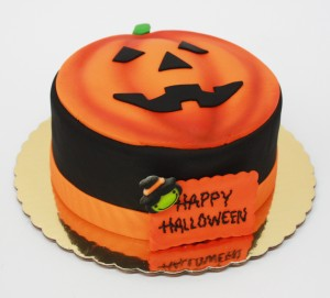 Fondant Jack O´Lantern Special Cake