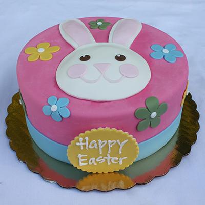 Easter Bunny Fondant Cake Edda S Cake Designs